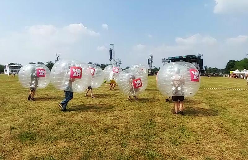 Bubble Football Milano @ Idays Monza con Coca Cola - WOAH